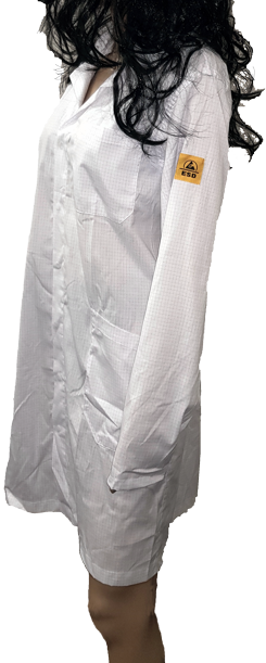 Camice Unisex bianco ESD
